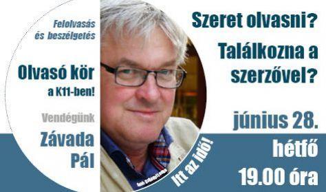 Olvasó kör Závada Pállal