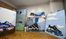Műteremjáró séta - Dóra Ádám festőművész műterme