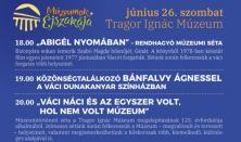 Múzeumok éjszakája Abigél nyomában közönségtalálkozó