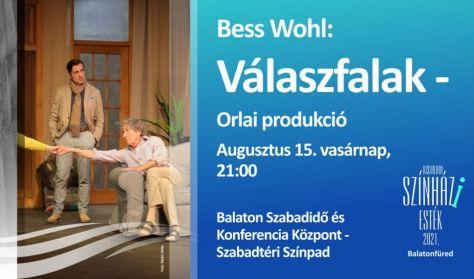 Bess Wohl: Válaszfalak