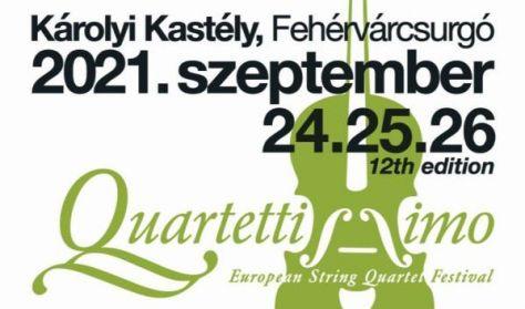 """Quartettissimo"" XII. Európai Vonósnégyes Fesztivál - Napijegy"