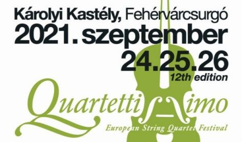"""""""Quartettissimo"""" XII. Európai Vonósnégyes Fesztivál - BÉRLET"""