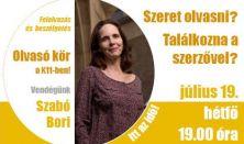 Olvasó kör Szabó Borbálával