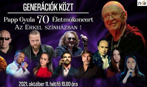 Papp Gyula 70 Életműkoncert