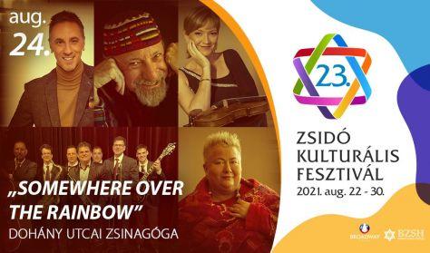 """""""Somewhere Over The Rainbow""""- Falusi M., Illényi K., Berki T., Csonka A., Don Lázi Swingtet"""