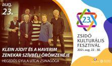 Klein Judit és a Haverim zenekar szívbéli örömzenéje