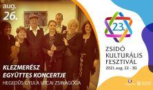 KLEZMELÓDIÁK - Klezmerész Együttes koncertje