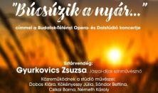 Búcsúzik a nyár,Opera és Dalstúdió, vendég:Gyurkovics Zsuzsa