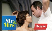 EKMK:  MR ÉS MRS- színházi előadás. Előadók: Verebes Linda és Pindroch Csaba.