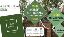 CHILL GARDEN Filmvetítés a Zsidó Kulturális Fesztivál keretében: Yentl