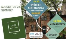 CHILL GARDEN Filmvetítés a Zsidó Kulturális Fesztivál keretében: Kabaré
