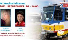 IX. Musical Villamos (Élő online musical műsor Szegedről)