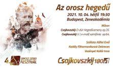 Az orosz hegedű - Orosz Zenei Fesztivál 2021