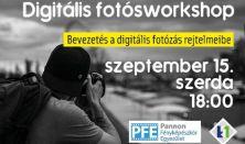 Digitális fotóworkshop // szeptember