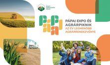 Pápai Expo és Agrárpiknik - 2021.09-17-18-19. -  Kiállítás és koncertek