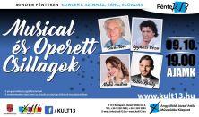 PénteK13 – Musical és Operett Csillagok
