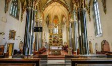 ÉPÍTÉSZETI SÉTA-SOROZAT II. - A Budapest-Belvárosi Nagyboldogasszony főplébánia középkori emlékei