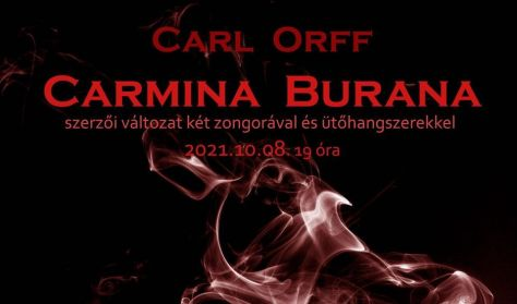 CARMINA BURANA - Carl Orff szerzői változata - 2 zongorára, ütőhangszerekre és kórusra