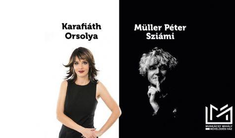 Lesz Itt Még Fesztivál - Müller Péter Sziámival Karafiáth Orsolya Beszélget