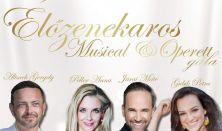 Élőzenekaros Musical & Operett gála