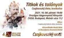 Titkok és talányok - Csajkovszkij élete és levelezése - Orosz Zenei Fesztivál 2021