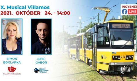 X. Musical Villamos (Élő online musical műsor Szegedről)