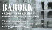 BAROKK - szonáták és szvitek // Várallyay, Karasszon, Rönkös, Győri koncert