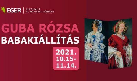 EKMK: Guba Rózsa Babakiállítás. A Kiállítás megtekinthető hétköznap 8-16 óráig.