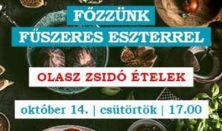 Főzzünk Fűszeres Eszterrel Olasz zsidó ételek