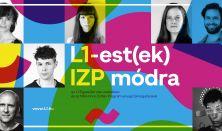 L1-est(ek) IZP módra: Ellenbacher Ádám, Veres Flóra, Dömötör Judit