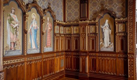 Szent István-terem – A Budavári Palota csodája - tárlatvezetés