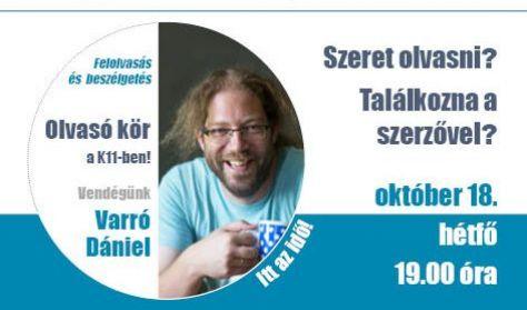 Olvasó kör Varró Dániellel