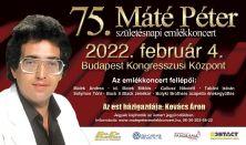 Máté Péter - 75. születésnapi emlékkoncert