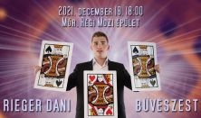 Rieger Dani bűvészest - Mór