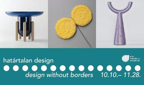 Határtalan design // Kurátori tárlatvezetés