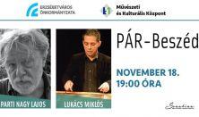 Pár - Beszéd: Parti Nagy Lajos és Lukács Miklós