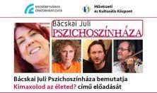 Bácskai Juli Pszichoszínháza//november 10