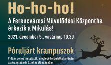 Az FMK-ba érkezik a Mikulás! - Póruljárt Krampuszok -  az Aranyszamár Színház előadása