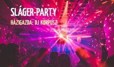 Sláger-party - Házigazda: DJ Korpusz
