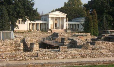 Aquincumi Múzeum Romkertje