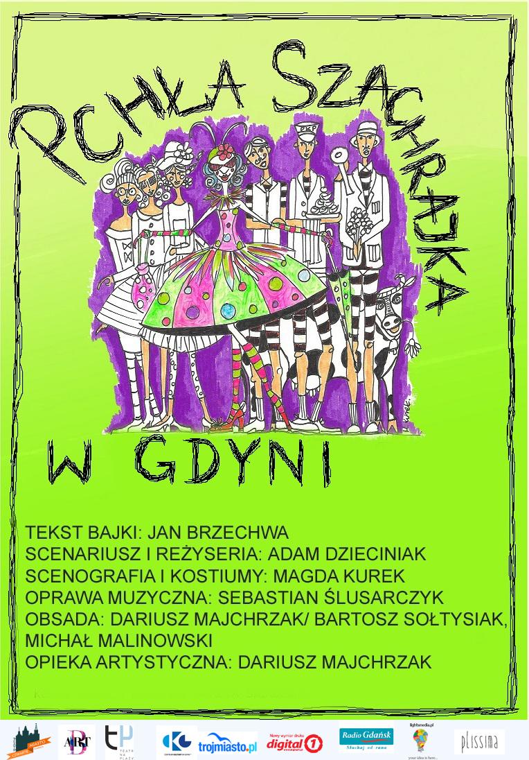 Pchła Szachrajka w Gdyni - reż. Adam Dzieciniak